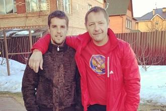 Владимир Комбаров с сыном Кириллом