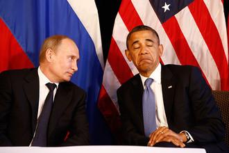 Барак Обама объяснил причины отказа от встречи с Владимиром Путиным