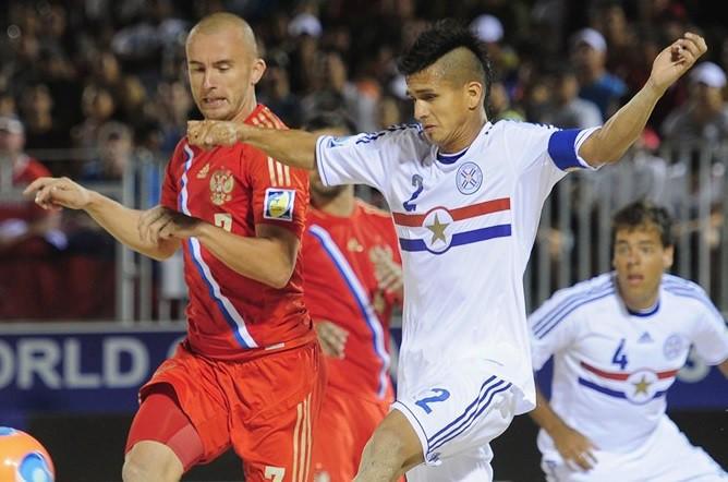 Парагвайцы отыгрались с 0:3, но обыграть россиян не сумели