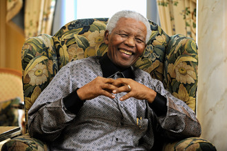 Нельсон Мандела (18 июля 1918- 5 декабря 2013)
