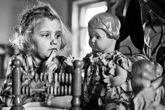 В детском саду, 1963 год
