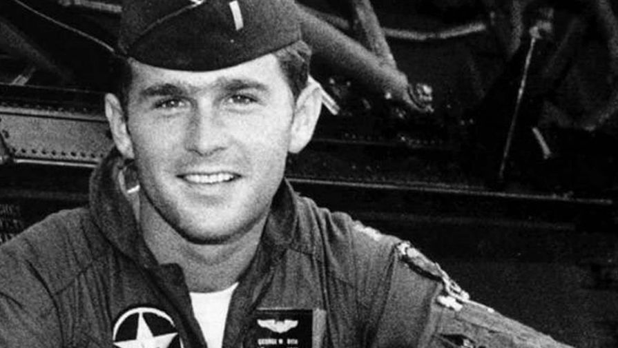 Джордж Буш вмолодости