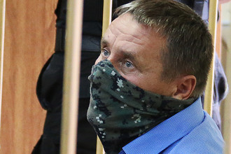 Заместитель начальника управления собственной безопасности Следственного комитета России Александр Ламонов в Лефортовском суде