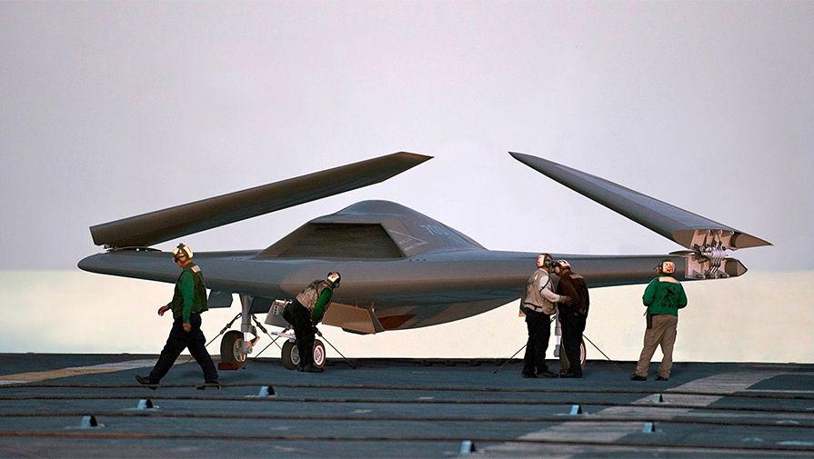 Беспилотные заправщики спасут авианосцы США