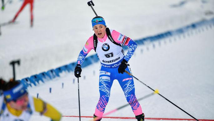 Биатлонистка Екатерина Юрлова-Перхт
