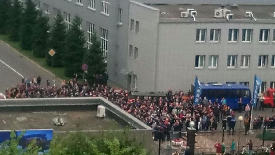 Забастовка на БелАзе, 13 августа 2020 года