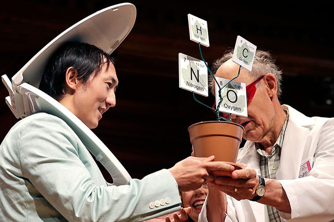Церемония вручения Шнобелевской премии