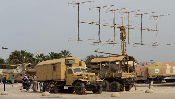 Радар П-12 в музее ВВС Израиля