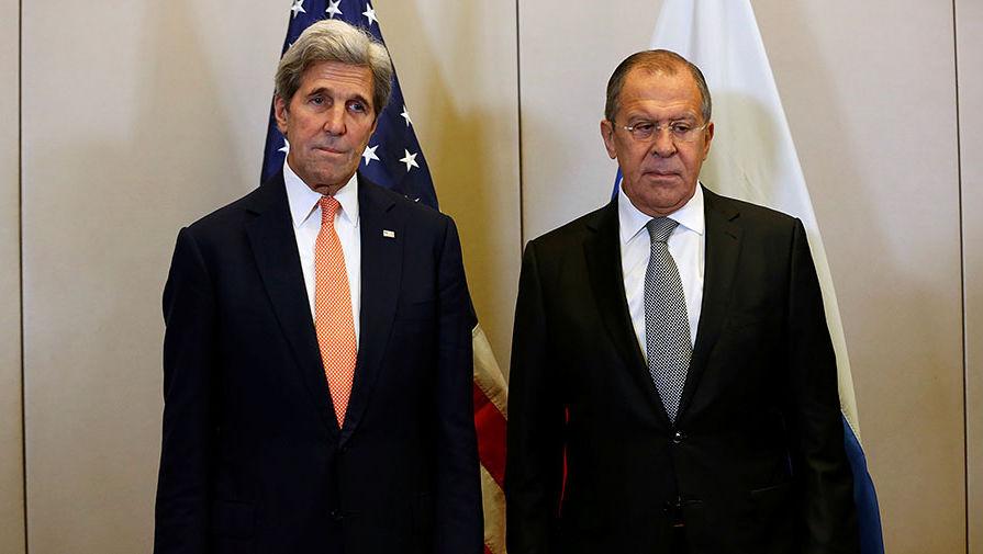 Лавров и спецпредставитель президента США по климату Керри провели встречу