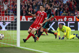 «Бавария» наседает на ворота «Реала»