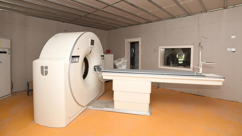 Кабинет компьютерной томографии в новом госпитале в Ухане, 2 февраля 2020 года