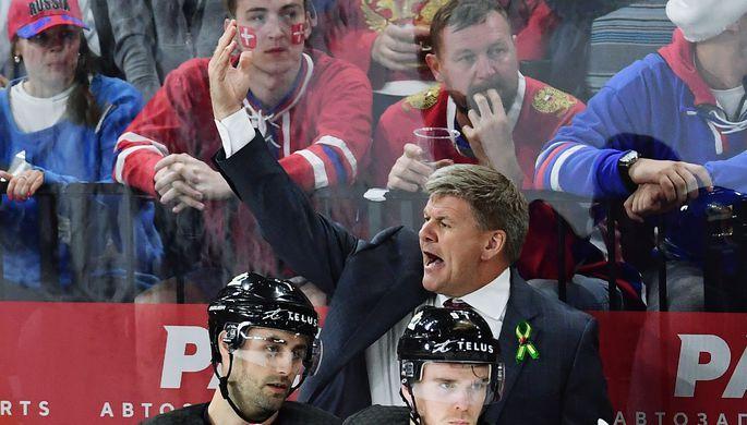 Канадский хоккейный тренер Билл Питерс