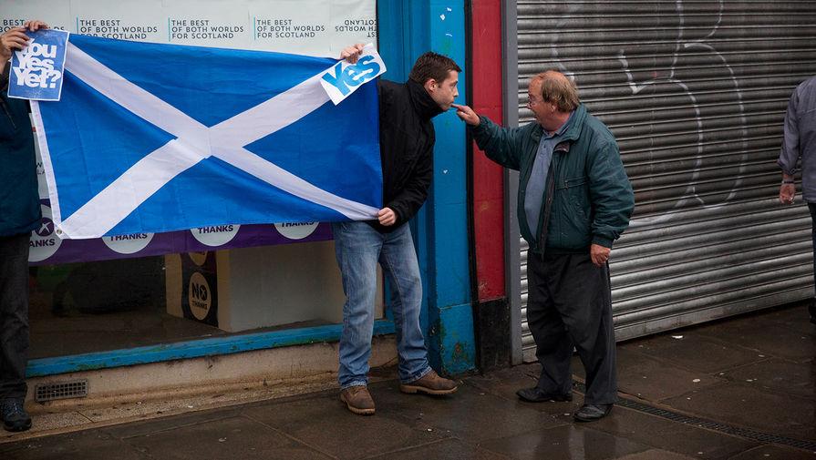Число сторонников независимости Шотландии возросло до рекордного уровня
