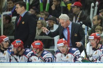 Андрей Назаров (слева) и Зинэтула Билялетдинов на Кубке Первого канала