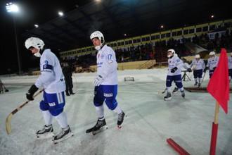 Динамовцы в этом году к Суперкубку России добавили и чемпионский титул