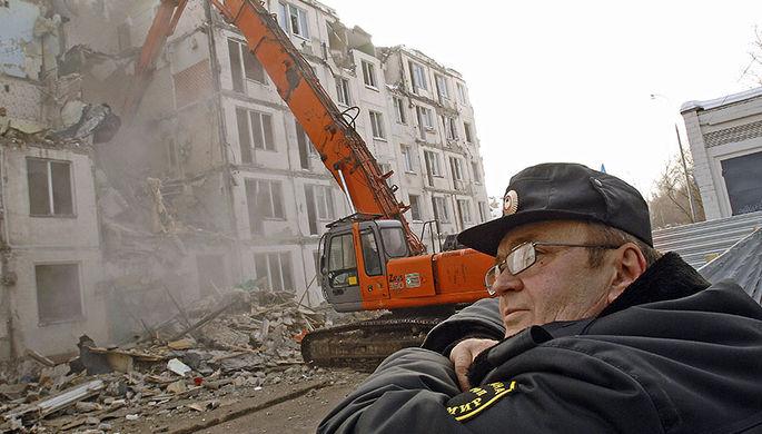 Москва прощается с хрущевками