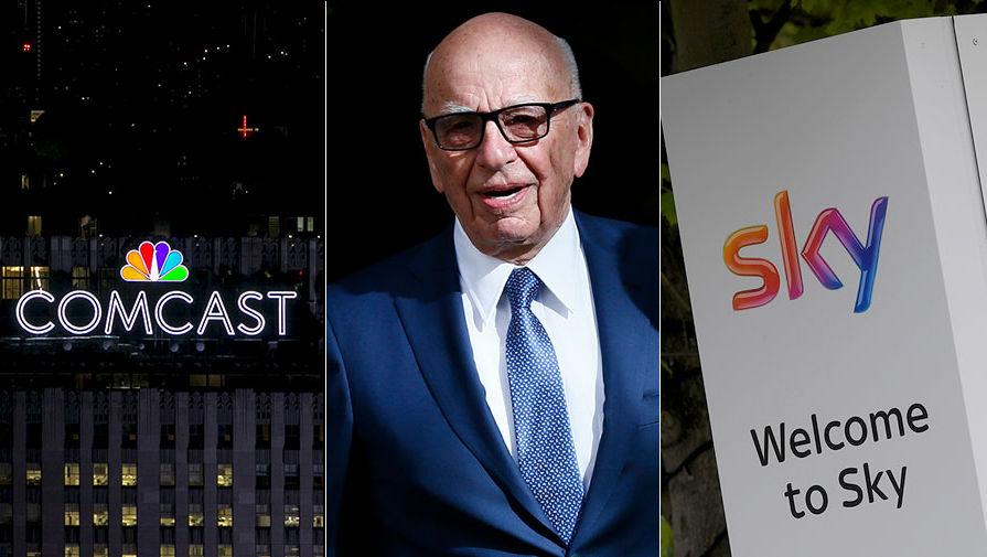 Comcast заплатит $40 млрд за приобретение Sky