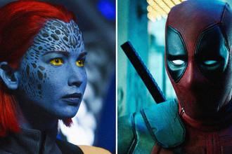 Кадры из фильмов «Люди Икс: Темный Феникс» (2018) и «Дэдпул 2» (2018), коллаж «Газеты.Ru»