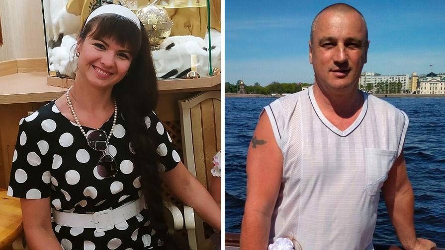 Елена Шпак с мужем Сергеем (коллаж)