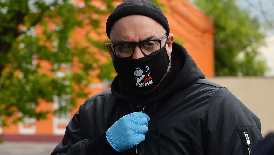 Режиссер Кирилл Серебренников перед заседанием по делу «Седьмой студии» у Мещанского суда Москвы, 2020 год