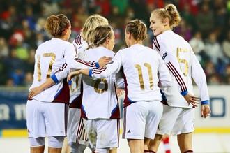 Женская сборная России пробилась на Евро