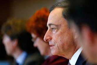 Глава Европейского центрального банка Марио Драги