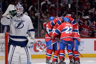 Обыграв «Тампу» и в четвертом матче, «Монреаль» вышел в полуфинал плей-офф Восточной конференции