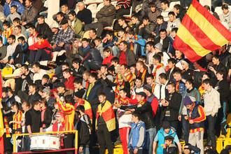 Болельщики владикавказской «Алании» по-прежнему верят в светлое будущее своего любимого клуба