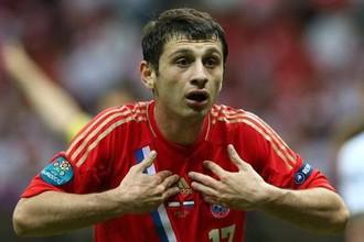Алан Дзагоев не сыграет на Евро
