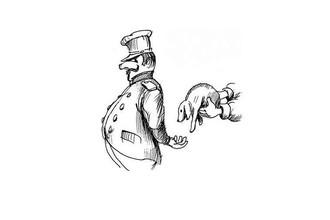 Иллюстрация к комедии Н.В. Гоголя «Ревизор» (1836)