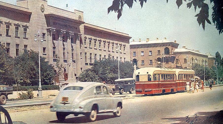 Ташкент. 1950-е. Фото: Wikimedia Commons