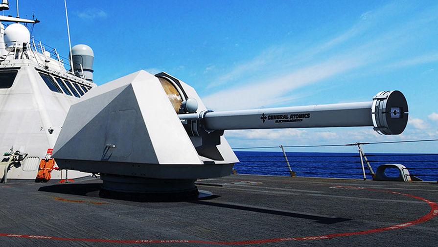 3D-модель электромагнитной пушки