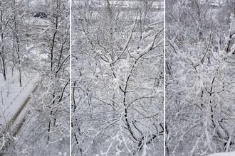 Последствия снегопада в Москве 4 марта 2018 года