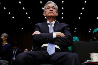 Будущий глава ФРС США Джером Пауэлл перед слушаниями по своей кандидатуре в Сенате, ноябрь 2017 года