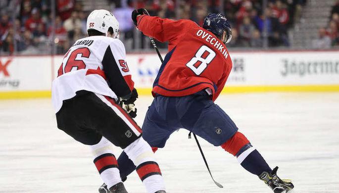 Александр Овечкин вновь не смог забросить шайбу, которая сделает его уникальным в истории НХЛ