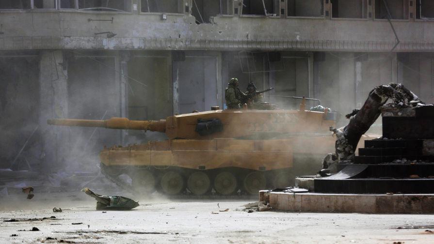 СМИ: военные Сирии окружили контролируемый боевиками город Хан-Шейхун