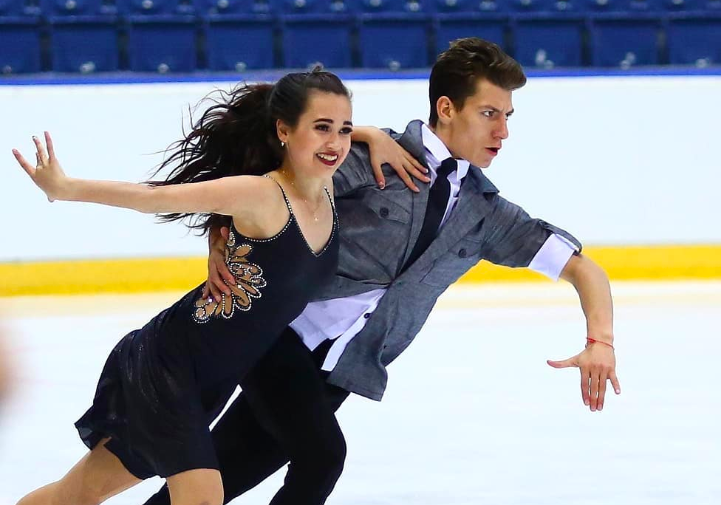 Елизавета Худайбердиева и Никита Назаров