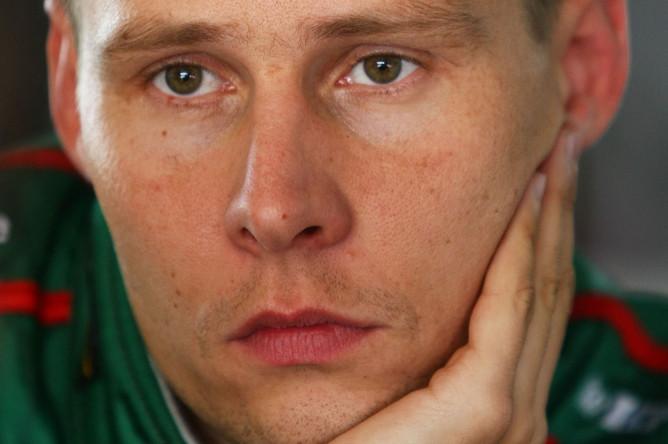 Датский автогонщик Аллан Симмонсен
