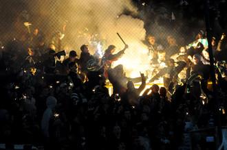 Фанаты «Карпат» известны буйным нравом