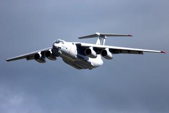 Самолет Ил-76.
