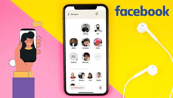 «Фактор хайпа»: Facebook создает аналог Clubhouse