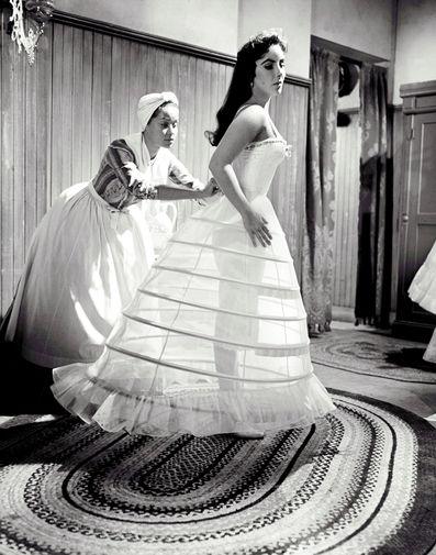 Элизабет Тейлор в фильме «Округ Рейнтри» (1957)