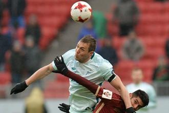 «Зенит» и «Рубин» встречаются в Санкт-Петербурге в рамках матча РФПЛ