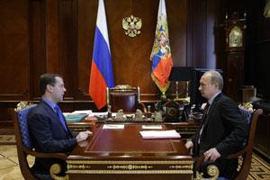 Дмитрий Медведев и Владимир Путин всерьез взялись за спорт