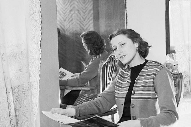 Балерина Майя Плисецкая, 1950 год