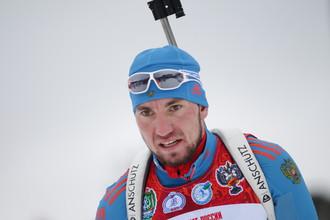 Бронзовый призер чемпионата мира по биатлону Александр Логинов