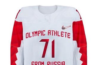 форма сборной России по хоккею на ОИ-2018