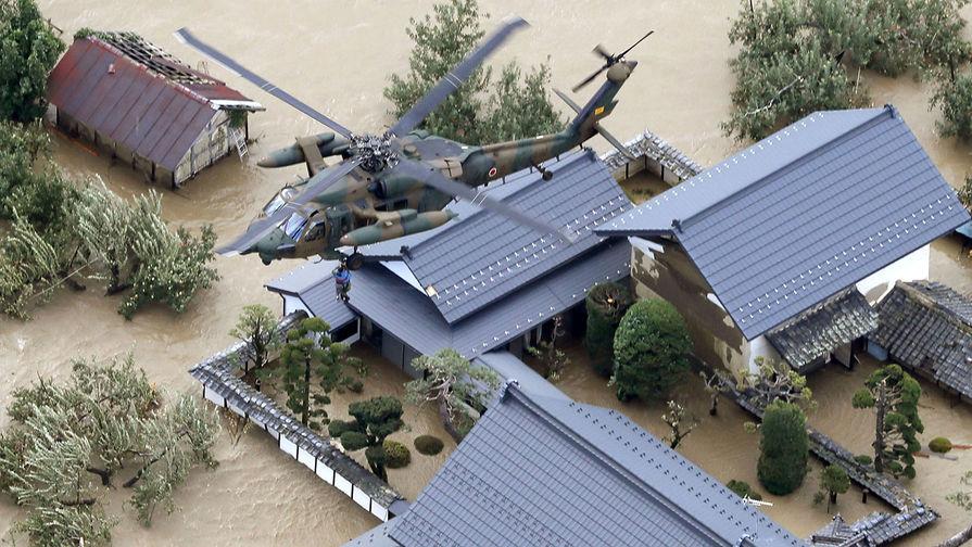 Число погибших из-за тайфуна в Японии выросло до 47