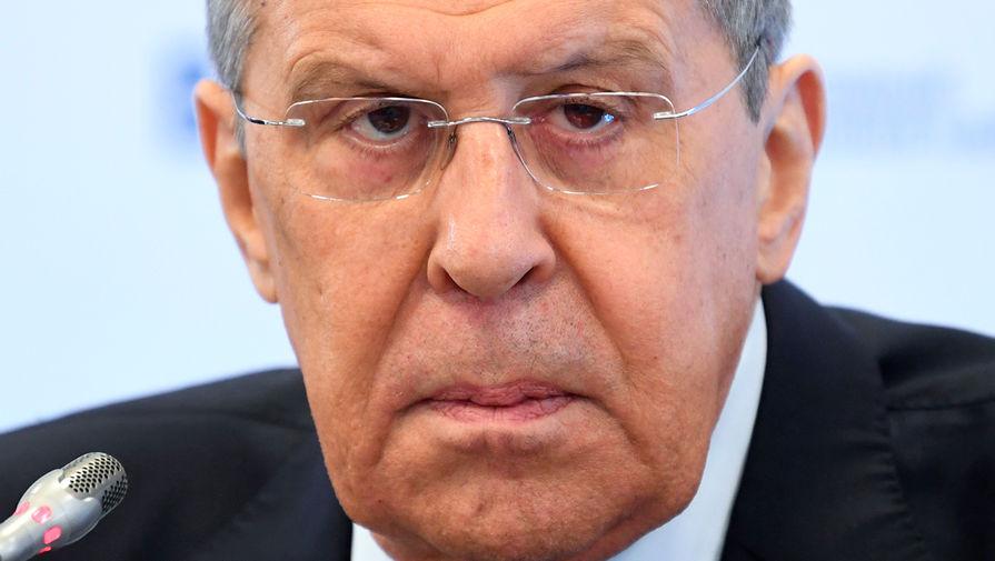 Лавров: США ведут опасную игру со спичками, говоря о санкциях против России