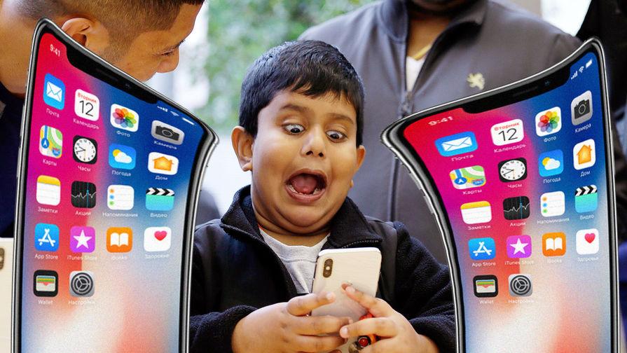 СМИ: у нового iPhone будет гнутый экран и бесконтактное управление